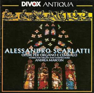 Alessandro Scarlatti - Works for Organ and Harpsichord Product Image
