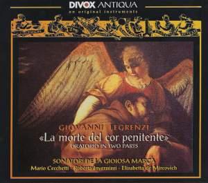 Legrenzi, G.B.: Morte Del Cor Penitente (La) (Sonatori De La Gioiosa Marca) Product Image