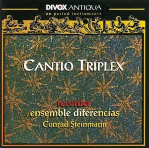 Dufay, G.: Chamber Music (Cantio Triplex)
