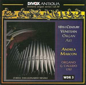 Organ Music - Pescetti, G. / Galuppi, B. / Paganelli, G. / Cervellini, G. / Valeri, G. (Historic Organ Series, Vol. 4)