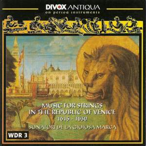 Music for Strings in the Republic of Venice (1615-1630) Product Image