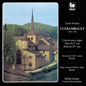 Clérambault: Suite du premier et deuxième ton