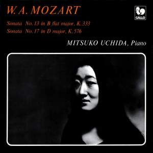 Mozart: Piano Sonata No. 13 in B-Flat Major, K. 333 - Piano Sonata No. 17 in D Major, K. 576