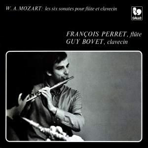 Mozart: Violin Sonatas, K. 10 - K. 15 (6 Sonatas for Flute and Harpsichord)