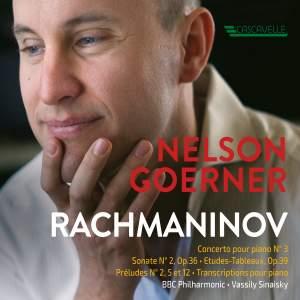 Rachmaninoff: Piano Concerto No. 3 in D Minor, Op. 30 - Prelude No. 5 & 12, Op. 32 - Prelude No. 2, Op. 23 - Piano Sonata No. 2, Op. 36 - Etudes-Tableaux, Op. 39 - Blumenfeld: Etude for the Left Hand, Op. 36