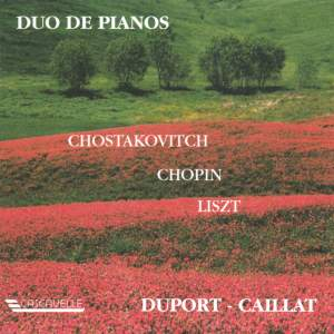 Shostakovich: Suite in F-Sharp Minor, Op. 6 - Chopin: Rondo in C Major, Op. 73 - Liszt: Concerto Pathétique in E Minor, S. 258/1