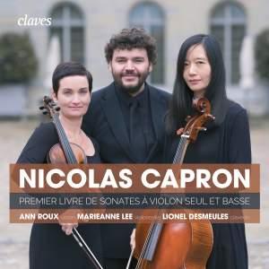 Capron: First Book of Sonatas for Violin Solo & Basso Continuo