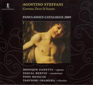 Steffani: Cantatas, Duets and Sonatas