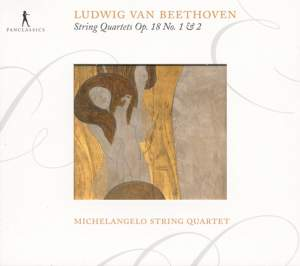 Beethoven: String Quartets Nos. 1 & 2 Product Image