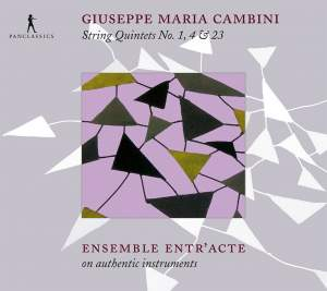 Cambini: String Quintets Nos. 1, 4 & 23 Product Image