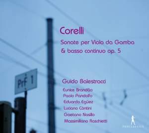 Corelli: Sonatas for Viola da Gamba & basso continuo