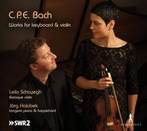 CPE Bach: Works for Keyboard and Violin