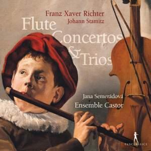 Franz Xaver Richter & Johann Stamitz: Flute Concertos & Trios Product Image