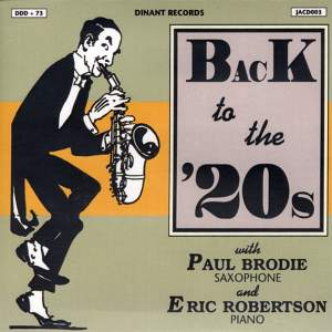 Brodie, Paul: Back To the '20S