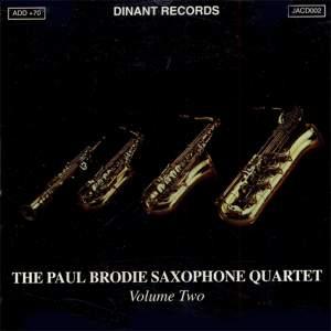 The Paul Brodie Saxophone Quartet, Vol. 2