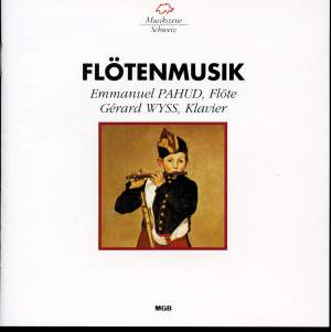 C.P.E. Bach, Ferroud, Fauré, Ferneyhough & Prokofiev: Flötenmusik