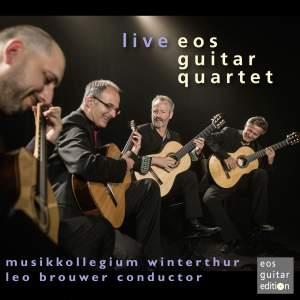 EOS Guitar Quartet Live