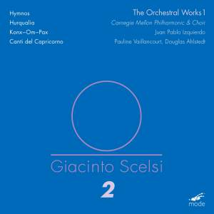 Scelsi Edition Volume 2: Orchestral Works 1