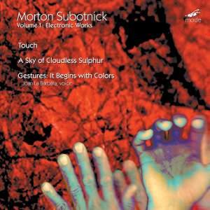Morton Subotnick: Electronic Works 1