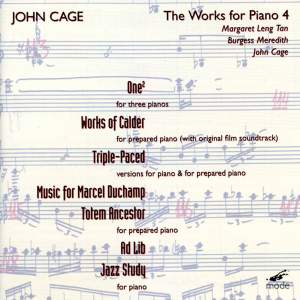 Cage Edition Volume 25 - The Works for Piano 4