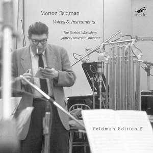 Feldman Edition Volume 5 - Voices and Instruments