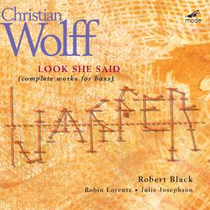 Christian Wolff - Look She Said