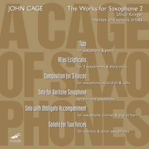 Cage Edition Volume 35 - A Cage of Saxophones 2