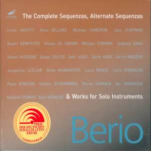 Berio: The Complete Sequenzas & Works for Solo Instruments