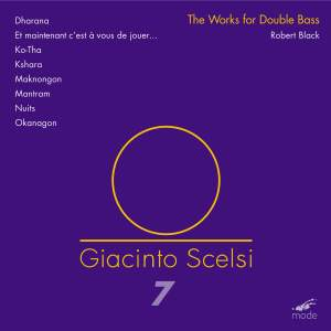 Scelsi Edition Volume 7: Works for Double Bass