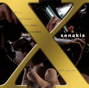 Xenakis Edition Volume 10 - Complete String Quartets
