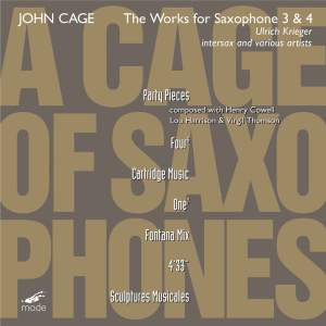 Cage Edition Volume 42 - A Cage of Saxophones 3 & 4