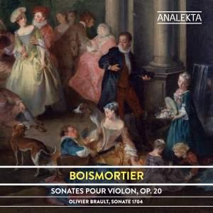 Boismortier: Sonates pour violon, Op. 20 Product Image