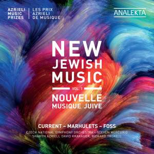 New Jewish Music, Vol. 1 - Azrieli Music Prizes Product Image