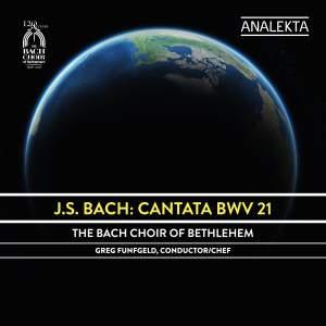 JS Bach: Cantata BWV 21 Product Image