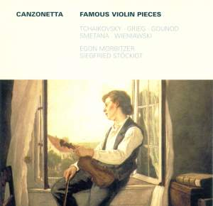 Canzonetta: Famous Violin Pieces