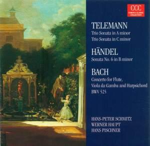Telemann & Bach: Trio Sonatas etc