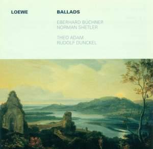 LOEWE, C.: Ballads (Buchner, Adam)