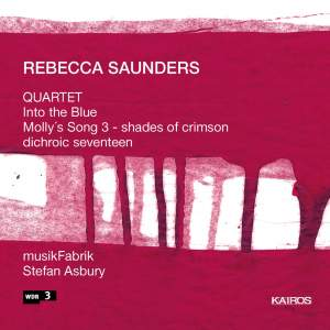 Rebecca Saunders - Chamber Music Product Image