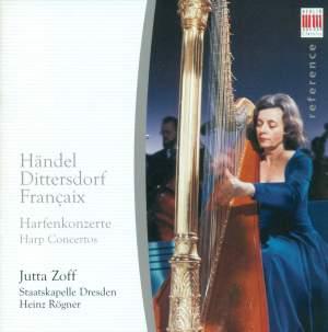 Handel, Dittersdorf, Françaix: Harp Concertos
