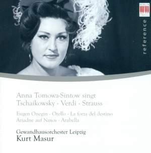 Anna Tomowa-Sintow sings Tchaikovsky, Verdi & Strauss
