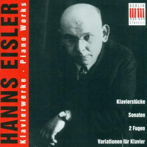 Eisler: Piano Works