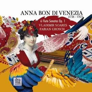 Anna Bon di Venezia: Flute Sonatas, Op. 1 Product Image