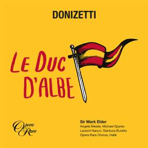 Donizetti: Le Duc d'Albe Product Image