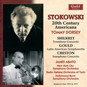 Leopold Stokowski conducts Shilkret, Gould & Creston