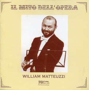 William Matteuzzi: Recital