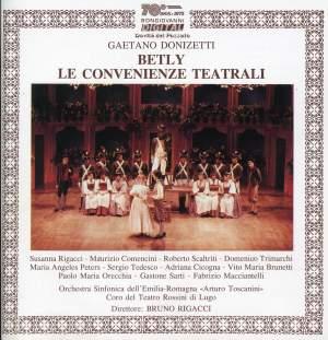 Donizetti: Betly & Le Convenienze