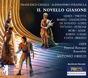 Cavalli/Stradella: ll Novello Giasone Product Image