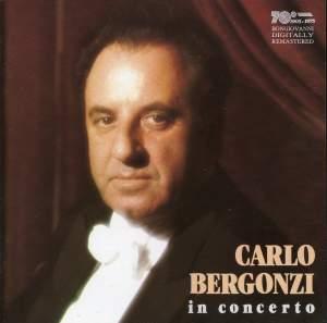Carlo Bergonzi: In Concert