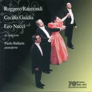Ruggero Raimondi, Cecilia Gasdia & Leo Nucci in concert