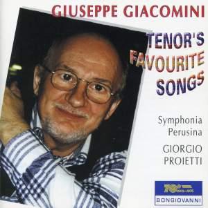 Giacomini: Tenor's favourite songs